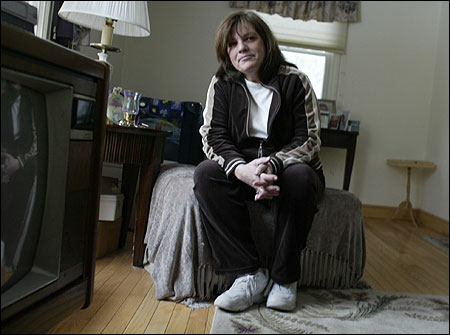Donna MacDonald had an emergency angioplasty at South Shore Hospital in 2003, but when another blockage was found last year, she had to be transferred to Boston for the procedure.