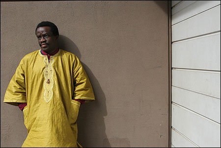 Torli Krua was forced to leave his homeland of Liberia because of his political and religious activities. &#145;&#145;I work with a lot of refugees, and I know what they have been through,&#146;&#146; he said.
