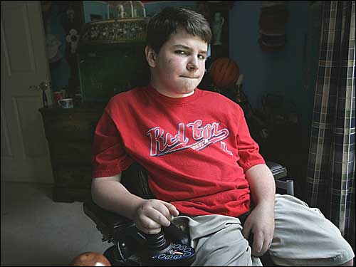 By the time he was 15, James Rossetti of Sutton had lost the use of his legs to muscular dystrophy. His parents twice took him to the Ukraine, where a clinic was promising to use stem cells to treat his illness. James reported some improvement after the unproven treatment, but not as much as his parents had hoped. <img src='http://cache.boston.com/bonzai-fba/File-Based_Image_Resource/dingbat_arrow_icon.gif' height='9' width='4' border='0'> Desperate parents chase a stem-cell miracle (Boston Globe, 9/26/04)