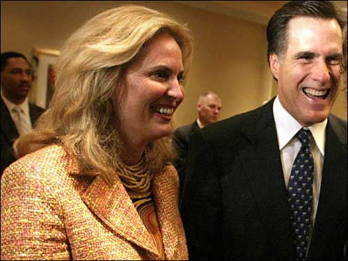 Ann and Mitt Romney