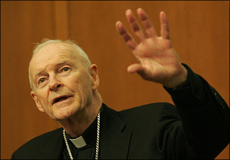 Cardinal Theodore E. McCarrick of Washington is to announce a new campaign against the death penalty.