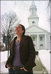 Smith College sophomore Elizabeth Koke has reconciled her Catholic beliefs with her feminist and gay-rights causes.