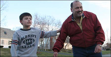 Dr. Rick Versace, shown with his son Joseph, 8, saw enrollment fall short after hiring a marketing expert to evaluate demand.