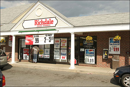 The Richdale convenience store on Route 133 in North Andover generated $1.6 million in lottery sales last year.