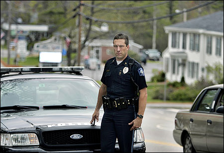 W. Garrett Chamberlain, the chief of police for New Ipswich, N.H., has decided to use a broad antitrespassing law to deal with undocumented foreigners.