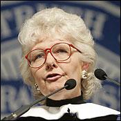 Margaret H. Marshall spoke at Brandeis.