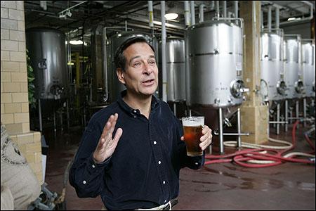 Jim Koch recently released Sam Adams Summer Ale for a new season.