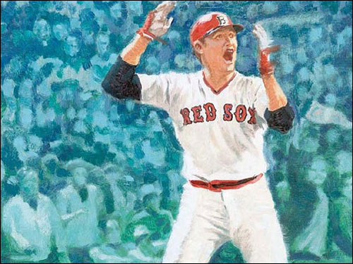 Carlton's Fisk's 12th-inning homer won Game 6 for the Sox and was the lasting image of the 1975 World Series between the Red Sox and Reds, even though Boston went on to lose in seven games.