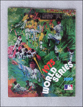 The program from the 1975 World Series cost just $2.