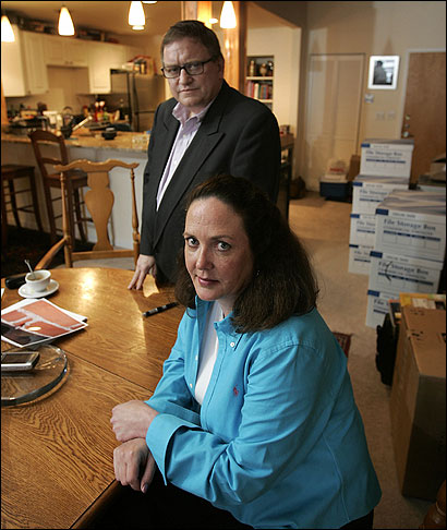 Erin Carey and Ted Baar blamed the spreading odor from their cigarettes on what they said was a faulty ventilation system.