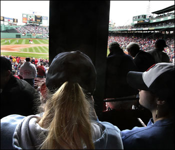 SECTION 23, ROW 2, SEAT 17: Would you pay $45 to sit behind a pole?