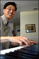 Council candidate Sam Yoon, who is filming a documentary of his campaign, will take to the stage with his skills as a jazz pianist.