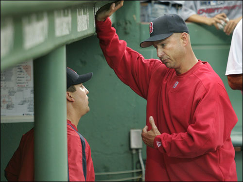 Terry Francona's pitching staff may not be getting the kind of late-season boost Red Sox fans had hoped. Browse this photo gallery for bad news from nearly every angle, and decide what you would do if you were in charge of the team.