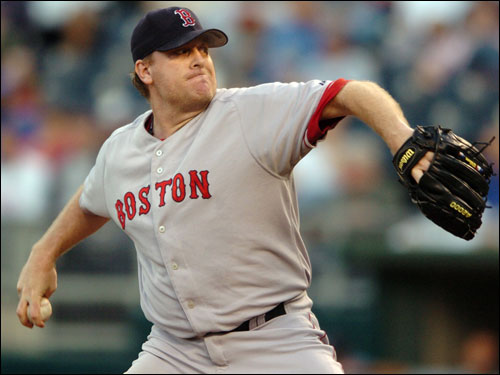 In the wake of Tuesday night's performance, his second start since April, Curt Schilling is 5-6 and his ERA is 6.96. He has given up a whopping 72 hits in just 53 innings. For Schilling, this has the look of a lost season, the final payment for what he put his body through last fall. ( Dan Shaughnessy text )