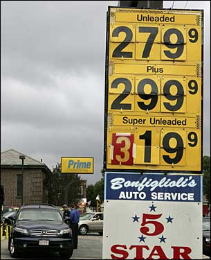 Who ever thought gas would top $3?