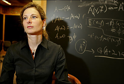 Harvard theoretical physicist Lisa Randall's papers on the warped geometry of the universe have made her one of the most cited physicists in the world.