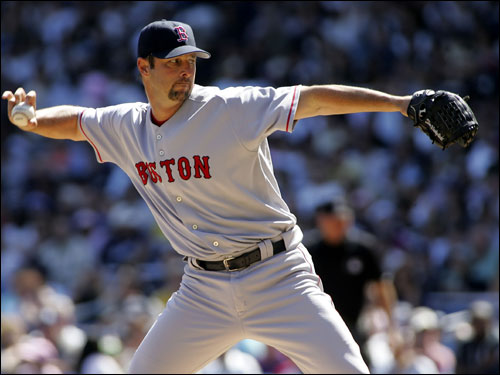 Tim Wakefield had his best outing of the season on Sunday, his only mistake being the Giambi home run. Wakefield had 12 strikeouts.