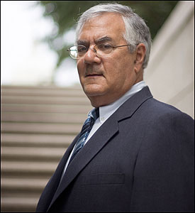Barney Frank's quarter century in Congress was interrupted by a scandal that would have buried other men. But this openly gay congressman, who has one of the fiercest wits and sharpest minds on Capitol Hill, remains a force to be reckoned with.