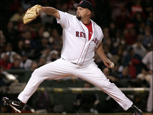 David Wells pitched seven strong innings, allowing three runs on six hits, to nail down his 15th -- and likely biggest -- win of the season.