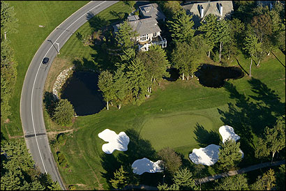 Salvatore F. DiMasi, the House speaker, has treated colleagues to rounds at the Ipswich Country Club (above) between 2002 and 2004.