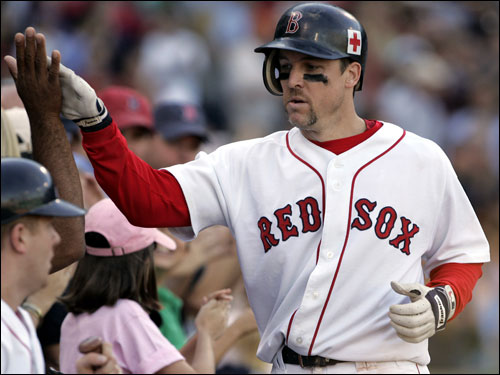 Mueller is among the Red Sox who may have played their final game in Boston. The former batting champion is a free agent, and the Red Sox have a third baseman waiting in the wings in Kevin Youkilis. Mueller also has a history of knee problems, but is one of the most popular and most fundamentally sound members of the Sox. Will they bring him back in 2006?