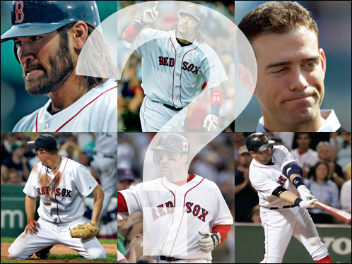 The Red Sox are sure to undergo many changes this winter; and many of the cast of characters who helped the team win the World Series in 2004 may be gone by the time April rolls around. An offseason that's sure to be fascinating is underway; click below for a roundup of the key players and execs whose status for 2006 is unknown, then decide for yourself who should stay and who should go.