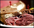 Corned Beef at Rubin's in Brookline.