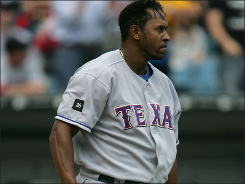 Hidalgo showed a lot of promise in 2003, and he hasn't lived up to it since. The 30-year-old played in just 88 games for the Rangers in 2005, and could only muster a .221 average and 43 RBIs.