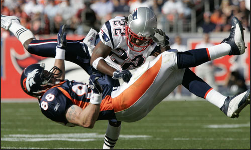 Patriots vs Broncos **Sunday 1:15/4:15** - Photo posted in BX ...
