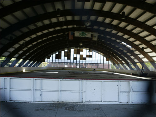 The Melnea Cass rink in Roxbury is in dire need of renovation, but the Bruins' two-year effort to get it reopened has met government road blocks.