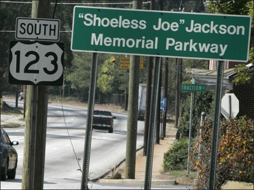 Jackson also has a local parkway named after him.