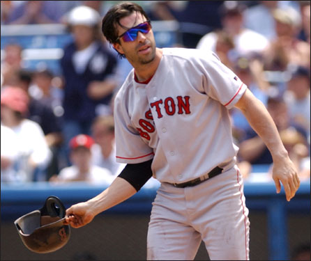 In December of 2002, the Red Sox sent minor leaguers Josh Thigpen and Tony Blanco to the Cincinnati Reds to complete a trade for Walker. Walker batted .283 with 13 home runs in 2003, but lacked defensive range at second base and made a career-high 16 errors. Walker was not retained by Epstein and signed a $2.5 million deal with the Cubs for 2004.