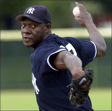 In December of 2002, Jose Contreras picked the New York Yankees and a four-year contract worth $32 million over the Red Sox when he defected from Cuba. Contreras was a 31-year-old Cuban star when he was the subject of an intense bidding war between the two AL East rivals. Theo Epstein went to Nicaragua, where Contreras had established residency, to try to sign him. Contreras is now pitching for the White Sox.