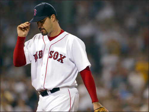 At the trading deadline in 2003, Theo dealt for a much-needed starting pitcher and straightened out the Sauerbeck deal at the same time. The Red Sox acquired Suppan from the Pirates and took back Brandon Lyon, whom they had dealt to Pittsburgh earlier in the month, in exchange for Mike Gonzalez, Freddy Sanchez, and cash. Suppan was disappointing at 3-4 with a 5.57 ERA the rest of the way in 2003.