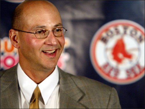 Theo certainly can't get all the credit for this one, but he was definitely part of the team that picked Francona to replace Grady Little as Red Sox manager in December 2003: 'I was kind of blown away after the first interview. I thought he was real well-rounded,' Epstein said.