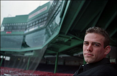 Theo Epstein at the start of his Red Sox career.
