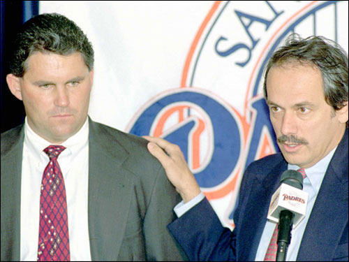 Padres GM Kevin Towers, who was GM under Larry Lucchino in San Diego, would appear to have been a perfect candidate for Boston. However, it appears he's statying put. In an e-mail exchange with the Globe, Towers said he has ''very little interest in uprooting my family at this time.'
