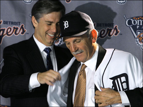 Dave Dombrowski, the Tigers' team president, was one of the early names bandied about as a possible GM for the Sox – most notably by ESPN's Peter Gammons. But according to Gordon Edes of the Boston Globe, Dombrowski has signed a two year contract extension with Detroit.
