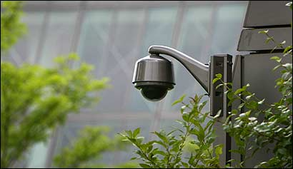 Cameras such as this one were used during the Democratic convention last year and then taken down.