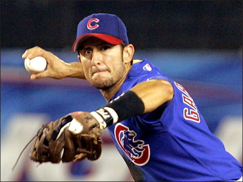Stranger things have happened but Theo Epstein or Dan Duquette may come back as GM before Nomar returns. Garciaparra only played in 62 games for the Cubs last season because of a groin injury, and hit .283. If only he had signed that four-year offer from the Sox before the 2004 season.