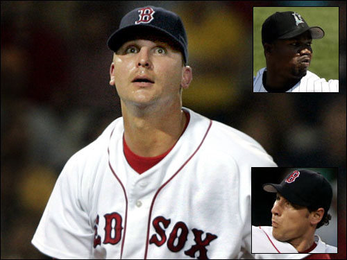 Despite the addition of Guillermo Mota and Rudy Seanez, some think the Red Sox bullpen is still somewhat incomplete. It's still unclear which Keith Foulke will show up for spring training, and Lenny DiNardo is the team's sole lefty. The good news, though, is that the team re-signed Mike Timlin to return. It appears there is still work to be done.
