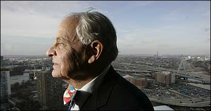 Edward Ginsburg, 2005 Bostonian of the Year.