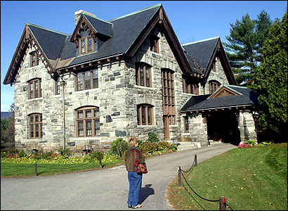 The Castle was first the residence of a wealthy Vermonter.
