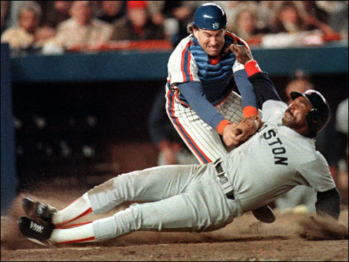 Rice batted .333 in the 1986 World Series with a .455 on-base percentage. However, his overall postseason numbers (.225 average, .313 on-base percentage in 71 at-bats) were not as favorable.