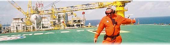 oil rig off Angola