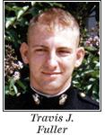 US Marine 1st Lieutenant Travis J. Fuller