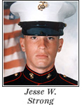 US Marine Reserve Sergeant Jesse W. Strong