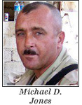 US Army National Guard Sergeant 1st Class Michael D. Jones