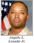 US Army Sergeant Angelo L. Lozada Jr.