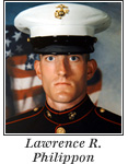 US Marine Lance Corporal Lawrence R. Philippon